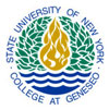 State University of New York at Geneseo logo