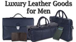 David Hampton blog - David Hampton Sells Luxury Leather Goods for Men