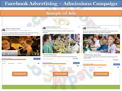 Facebook Advertising Report - Private School