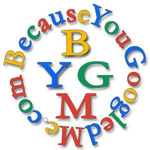BecauseYouGoogledMe (BYGM) logo