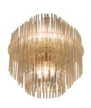 Stunning five tiered glass rod chandelier south loop loft sciolari glass rod chandelier g audiocablefo