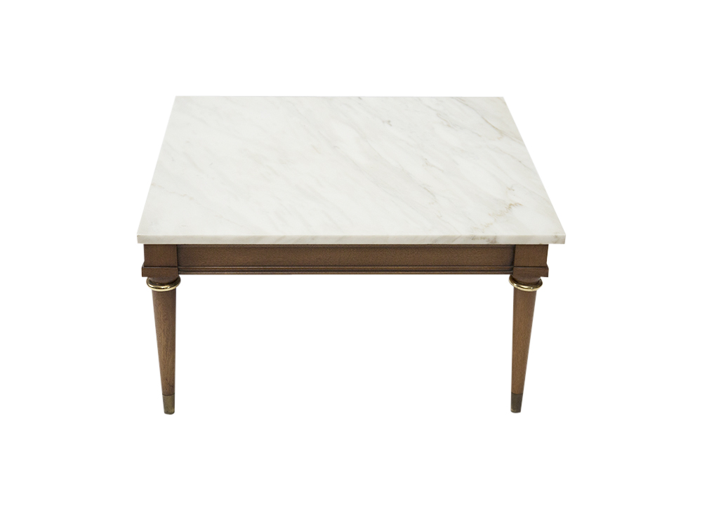 Mid Century Marble Coffee Table