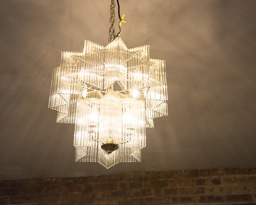 Star shaped glass rod chandelier south loop loft southlooploft 72g aloadofball Image collections