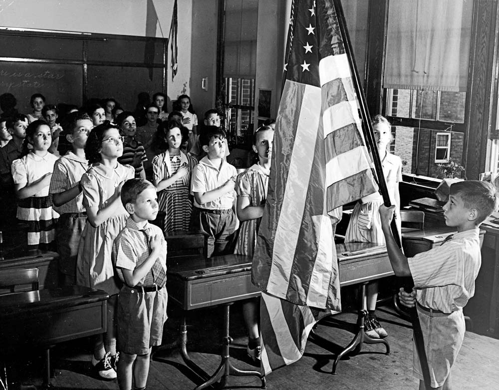 1950S Pledge Of Allegiance School.jpg
