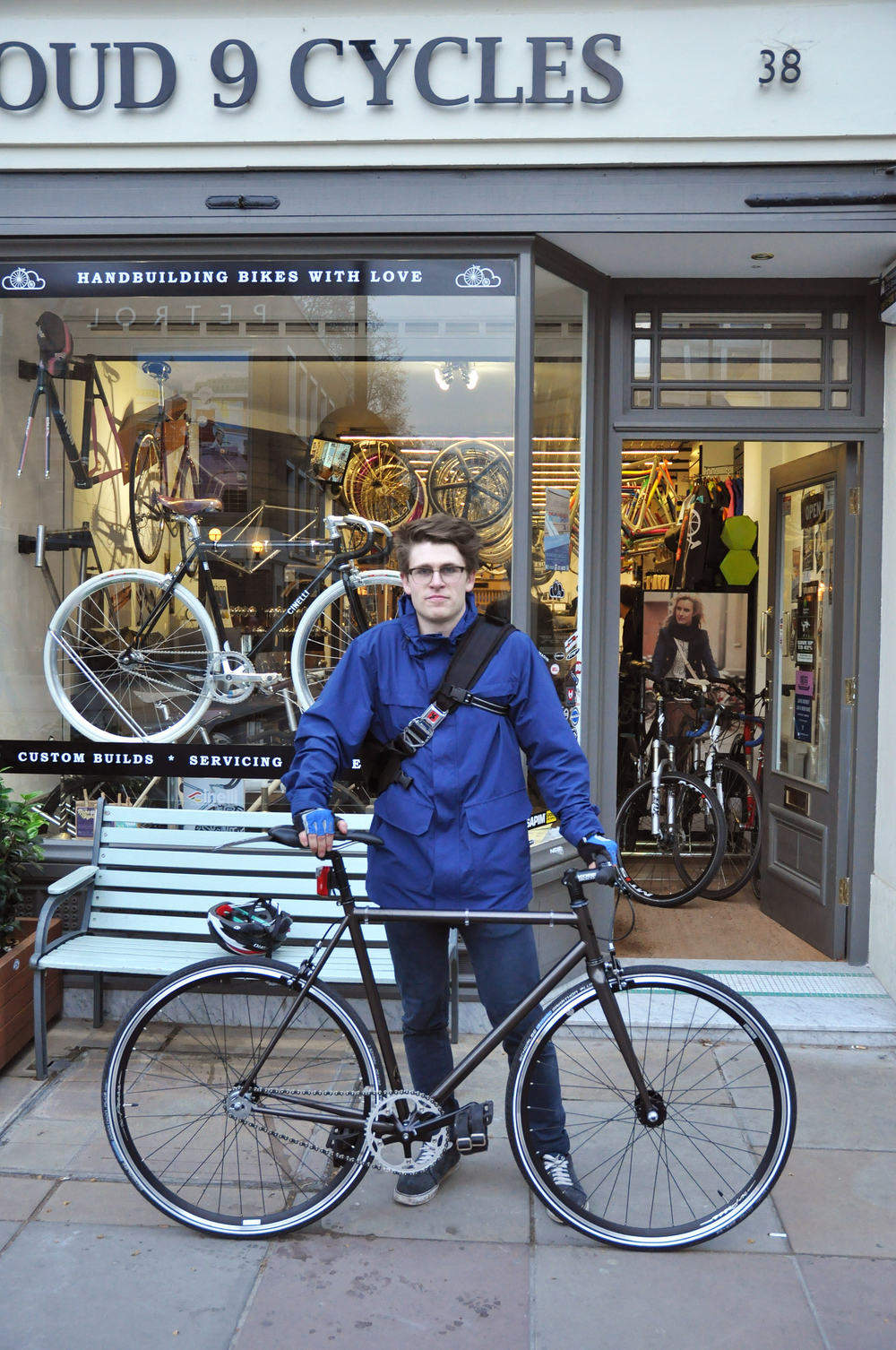 Ben and his @Brothercycles Swift Track