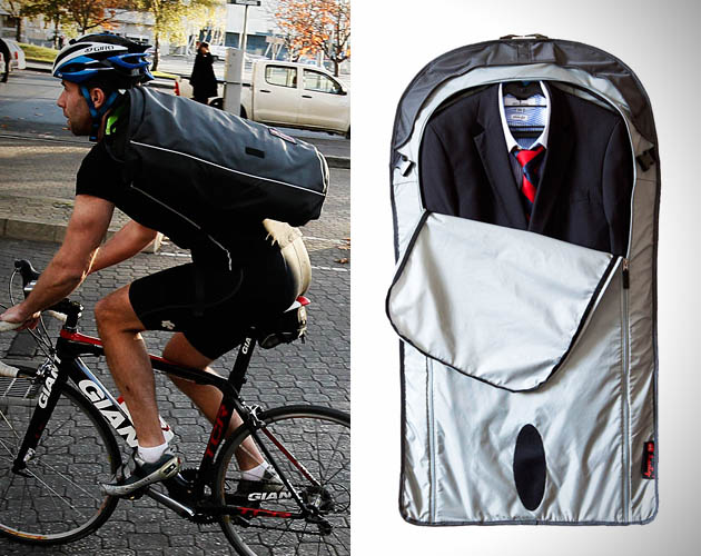Cycle to the office and wear your suit