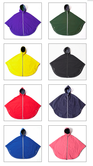Otto Ponchos - Available Colours