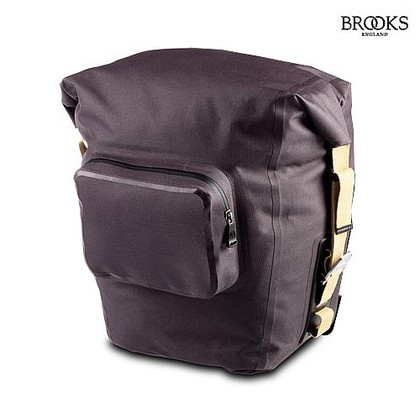 Brooks Panniers - fully waterproof and made by Ortleib this are really the best panniers on the market
