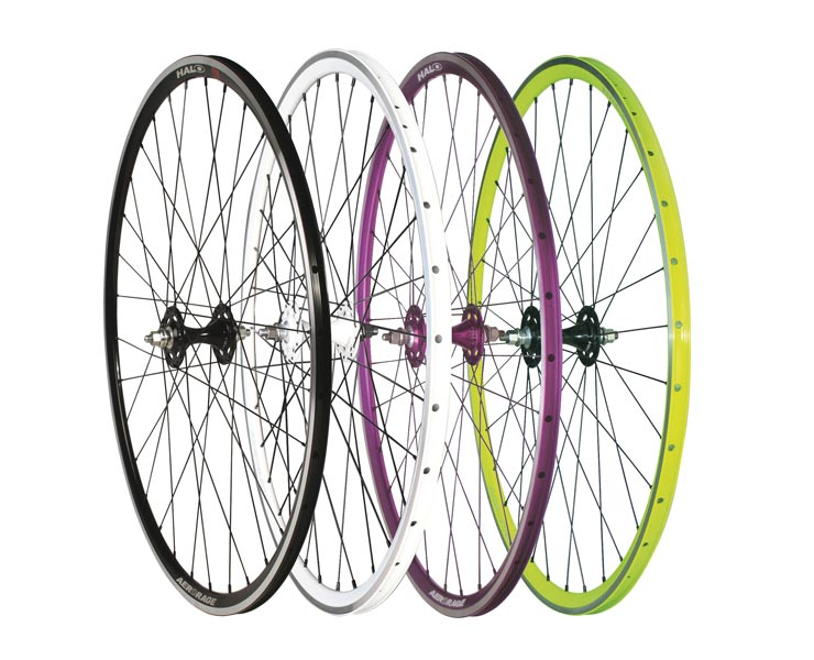 Halo Aerorage. Track wheels with braking surface. Light, strong and quick!