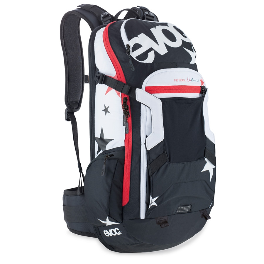 Rucksacks with waiststraps and back protectors!