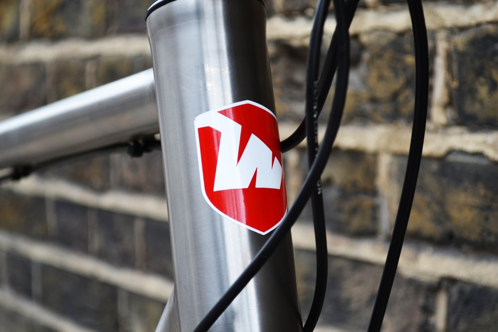 The Wittson Headbadge, simple yet elegant.