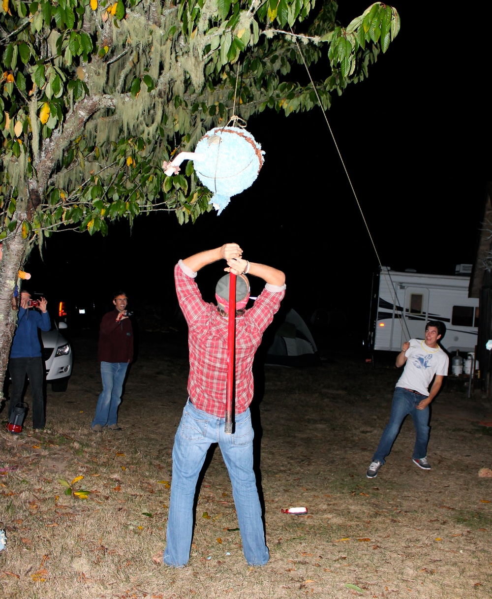 Piñatas=Camp fun!