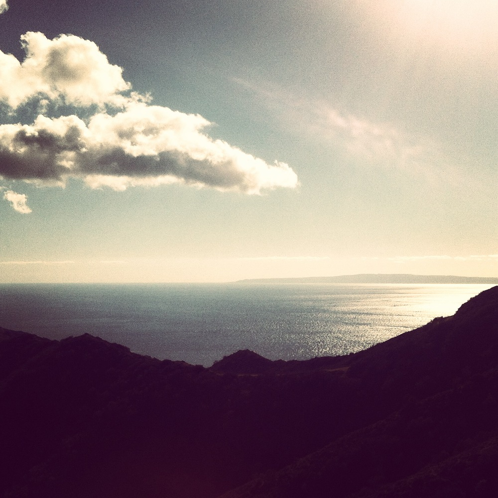 View of San Clemente Island from Catalina
