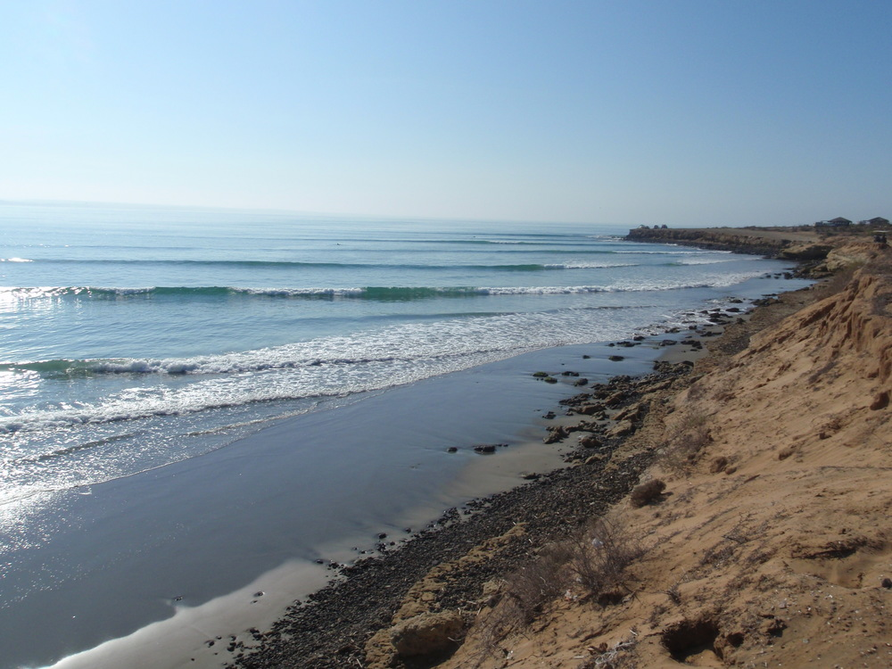 San Juanico (Scorpion Bay), Baja. Gorgeous waves all to ourselves...