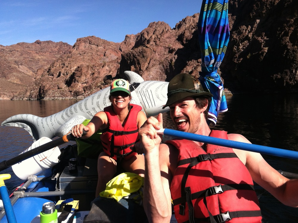 Black Canyon, Colorado River (ridiculousness)