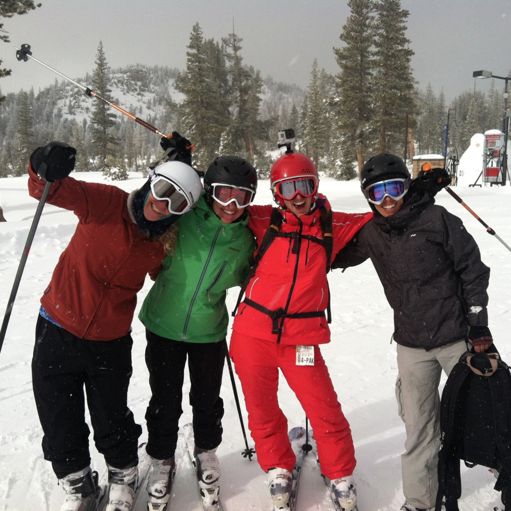 Mammoth Mountain ladies trip