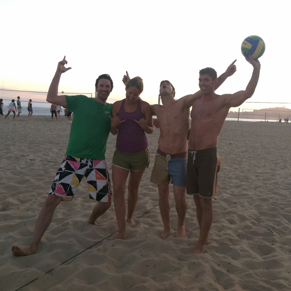 Beach Volleyball after work