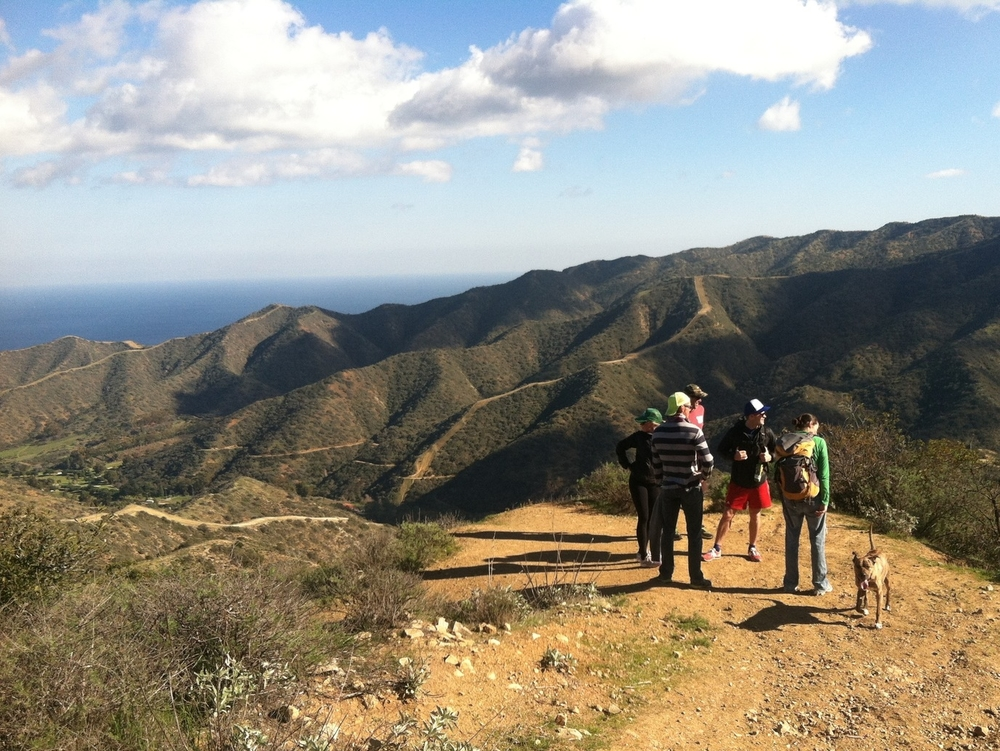 Catalina Island New Years hike