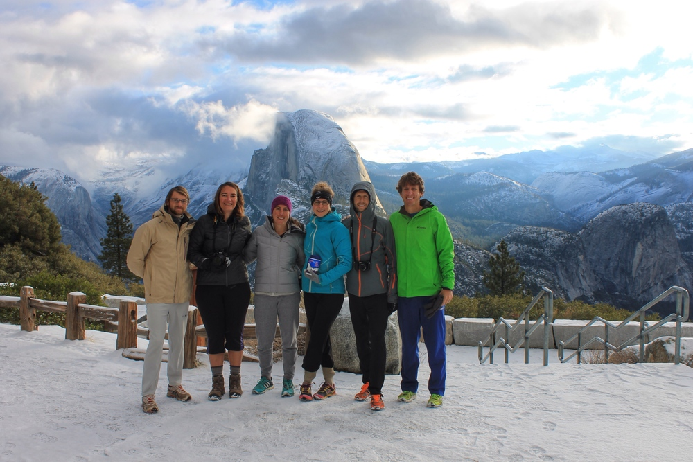 Half Dome and some awesome adventure buddies