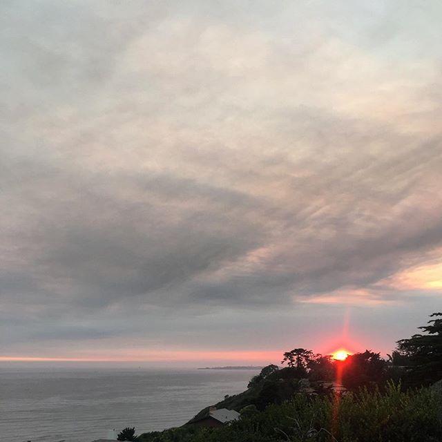 Fire in the sky #reyfire #santabarbara #california #sunset #mothernature