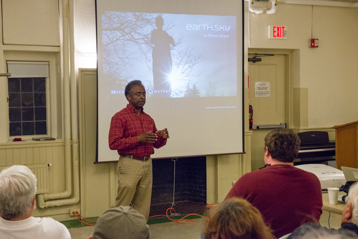 Lecturing on Landscape Photography