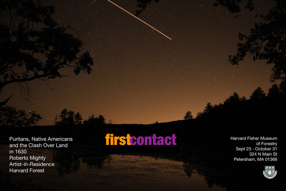 First Contact: Harvard Forest Fisher Museum 2012