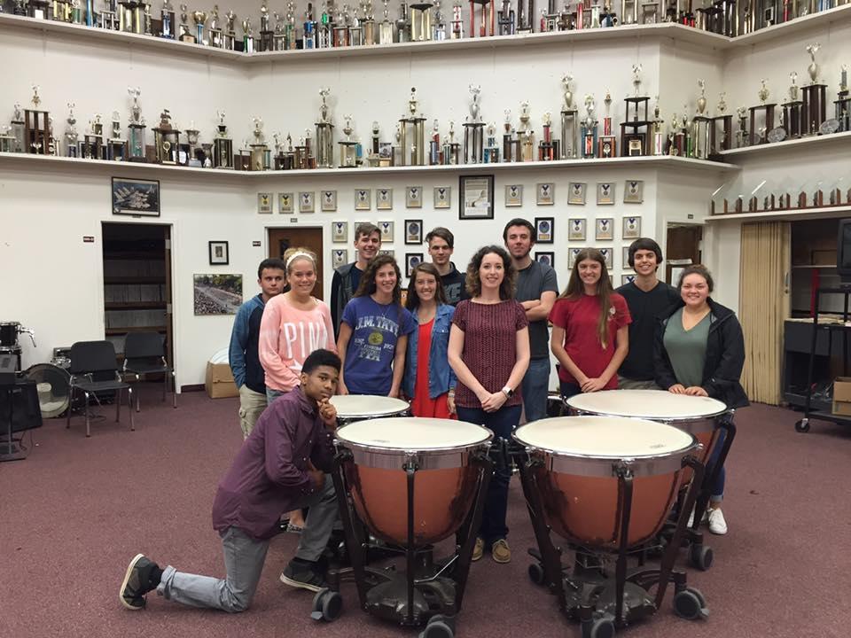 Timpani Masterclass at Tate HS