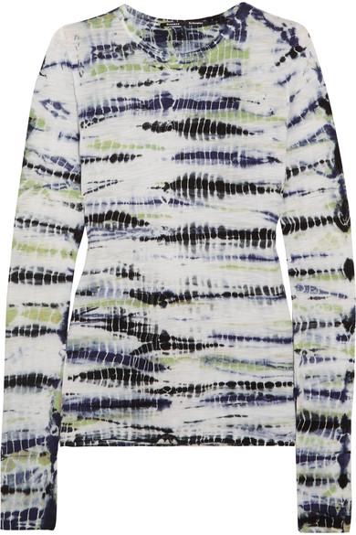 Proenza Schouler tie-dyed cotton-jersey top, $275