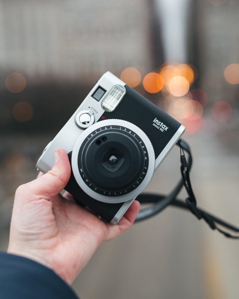 Fujifilm Instax Mini // Sandy Noto