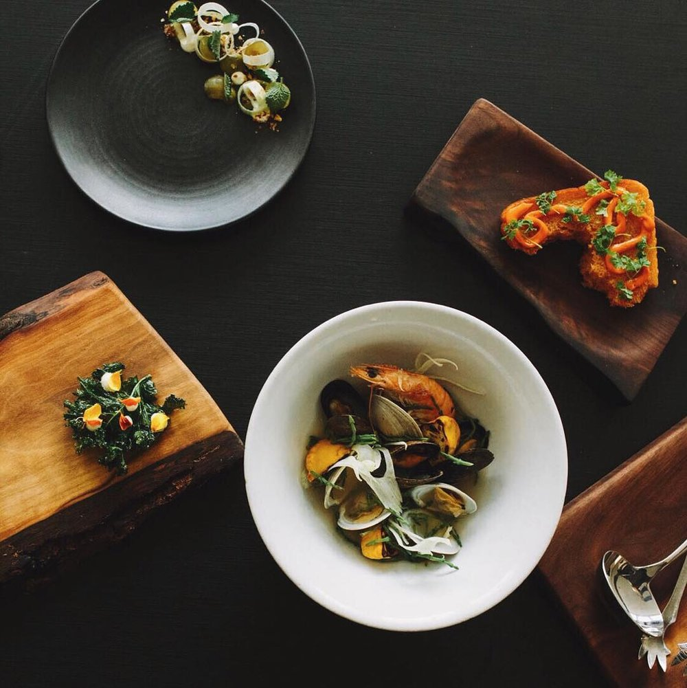 Food photography at Blackbird