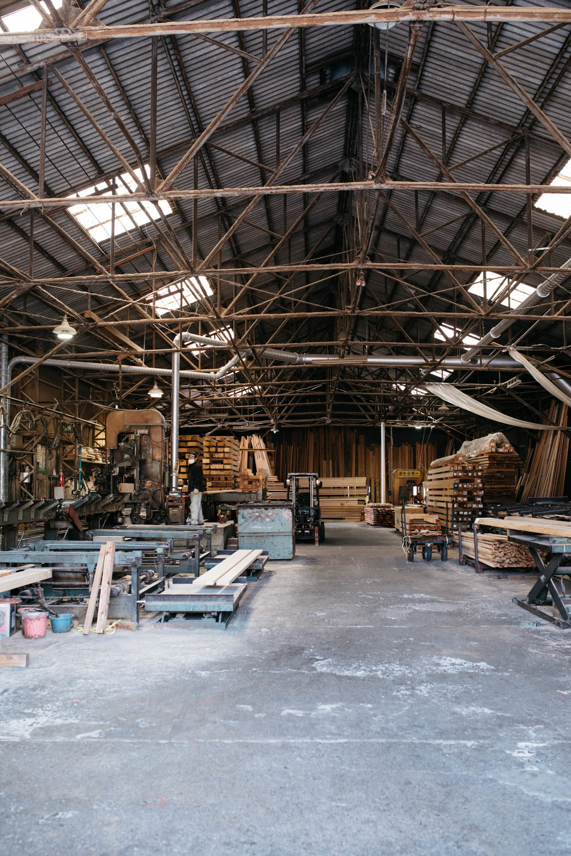 Visiting a cedar mill in Yoshino, Japan