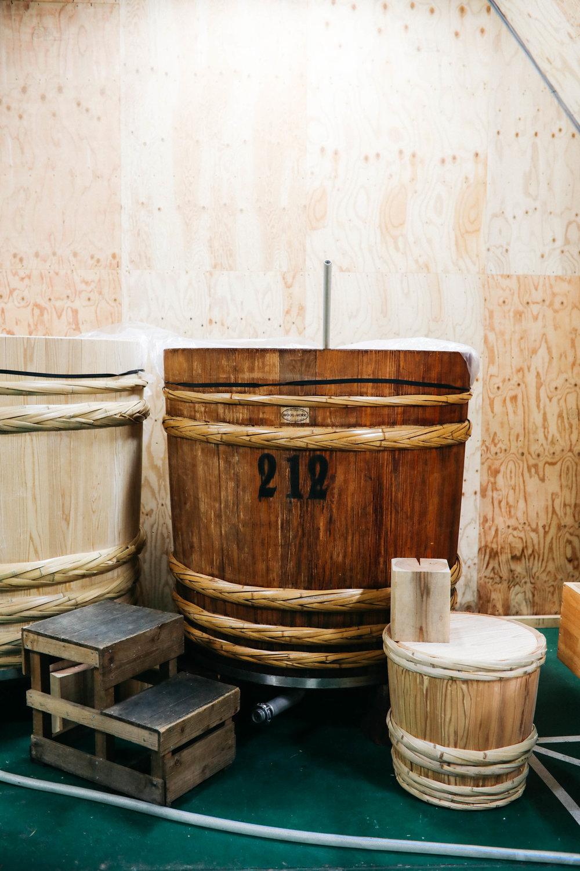 Yoshino Japan sake production