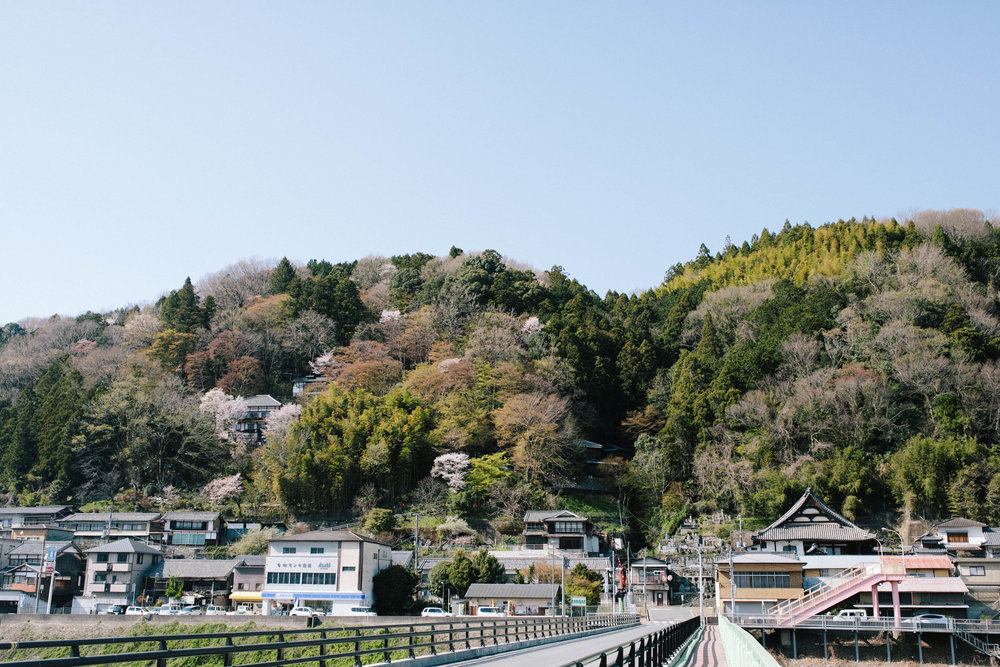 Visiting Yoshino Japan