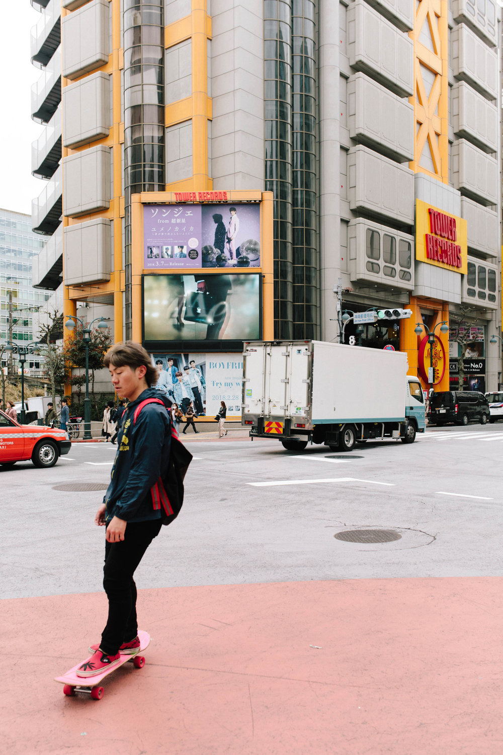 Photographing Tokyo