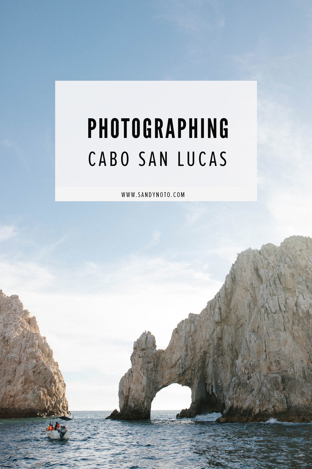Photographing Cabo