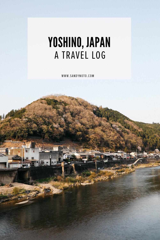 Photographing Yoshino