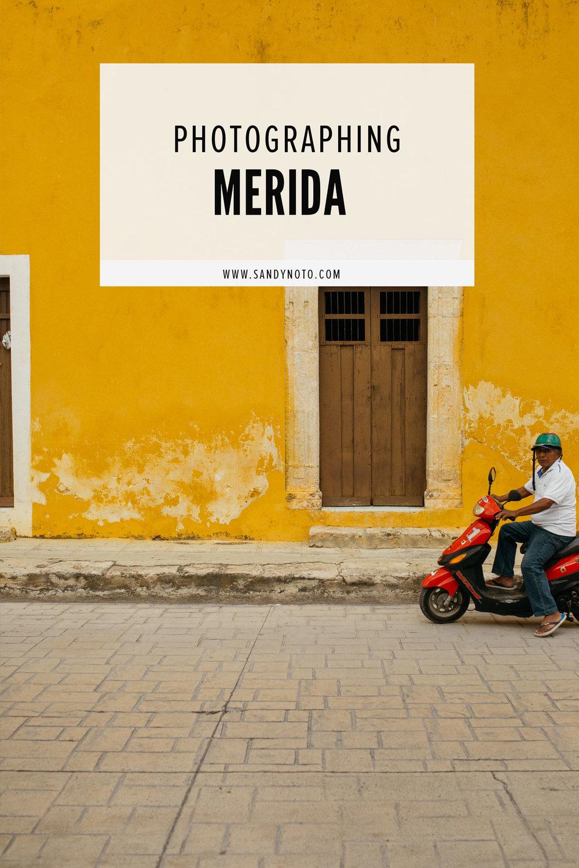 Photographing Merida
