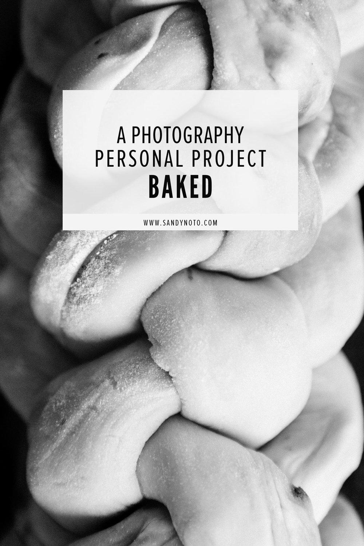 Baking photographed