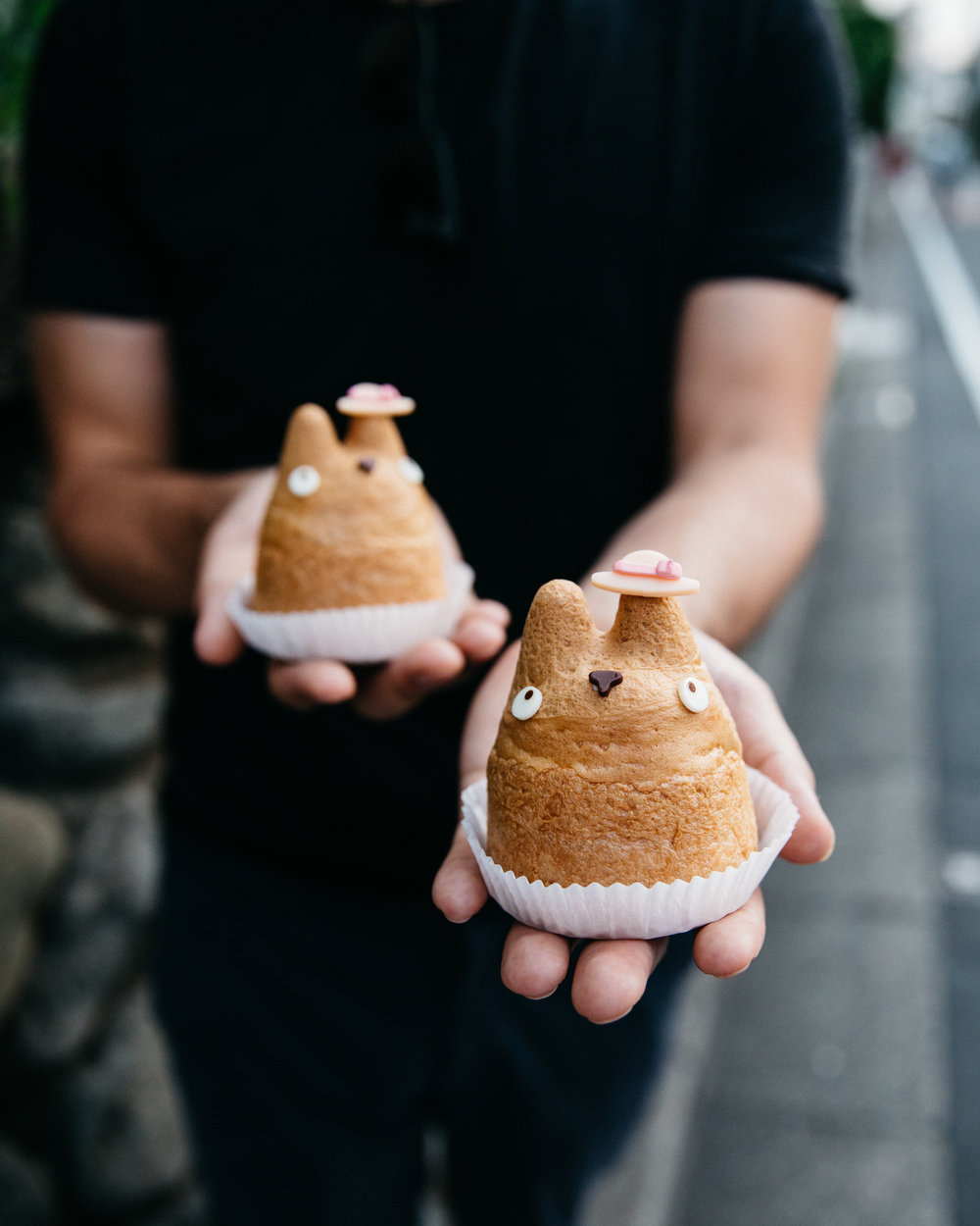 Totoro Pastry