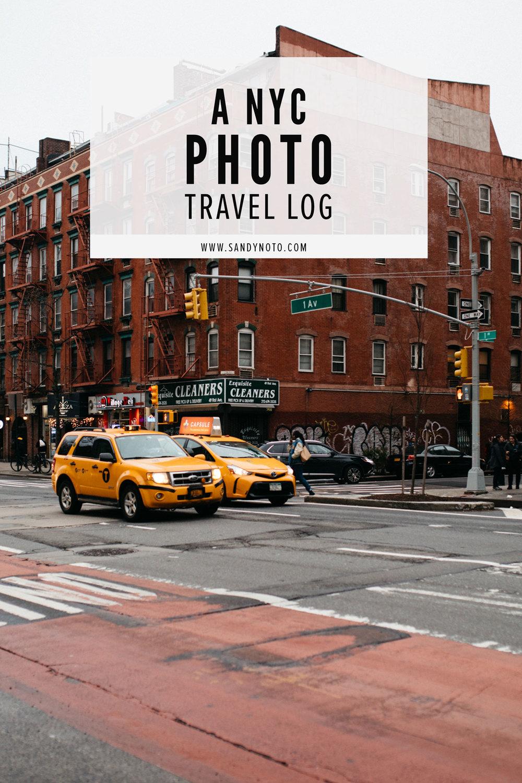 An NYC photo log