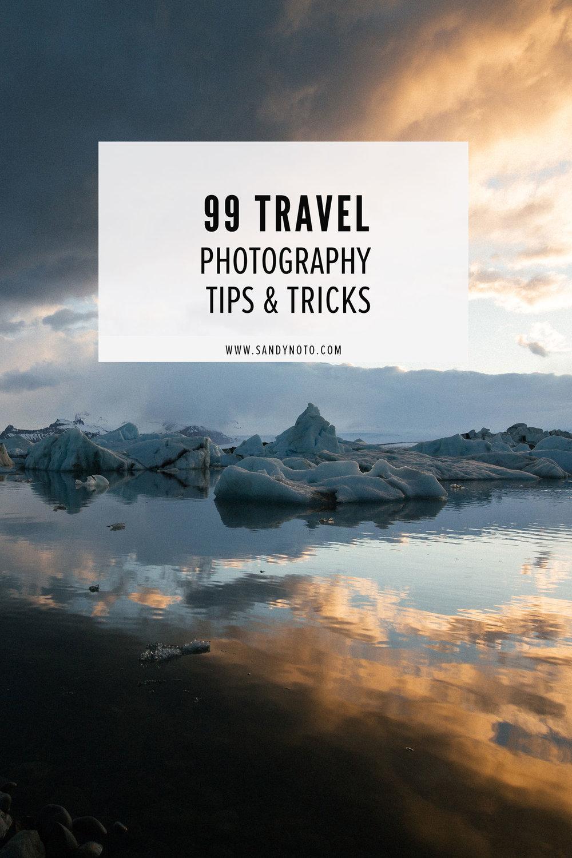 99 Travel Photography Tips & Tricks