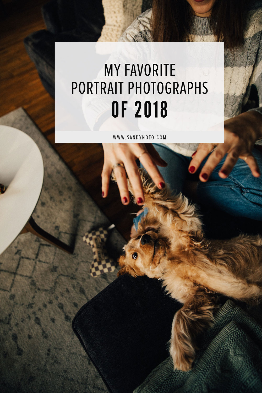 A few favorite portrait photos from 2018
