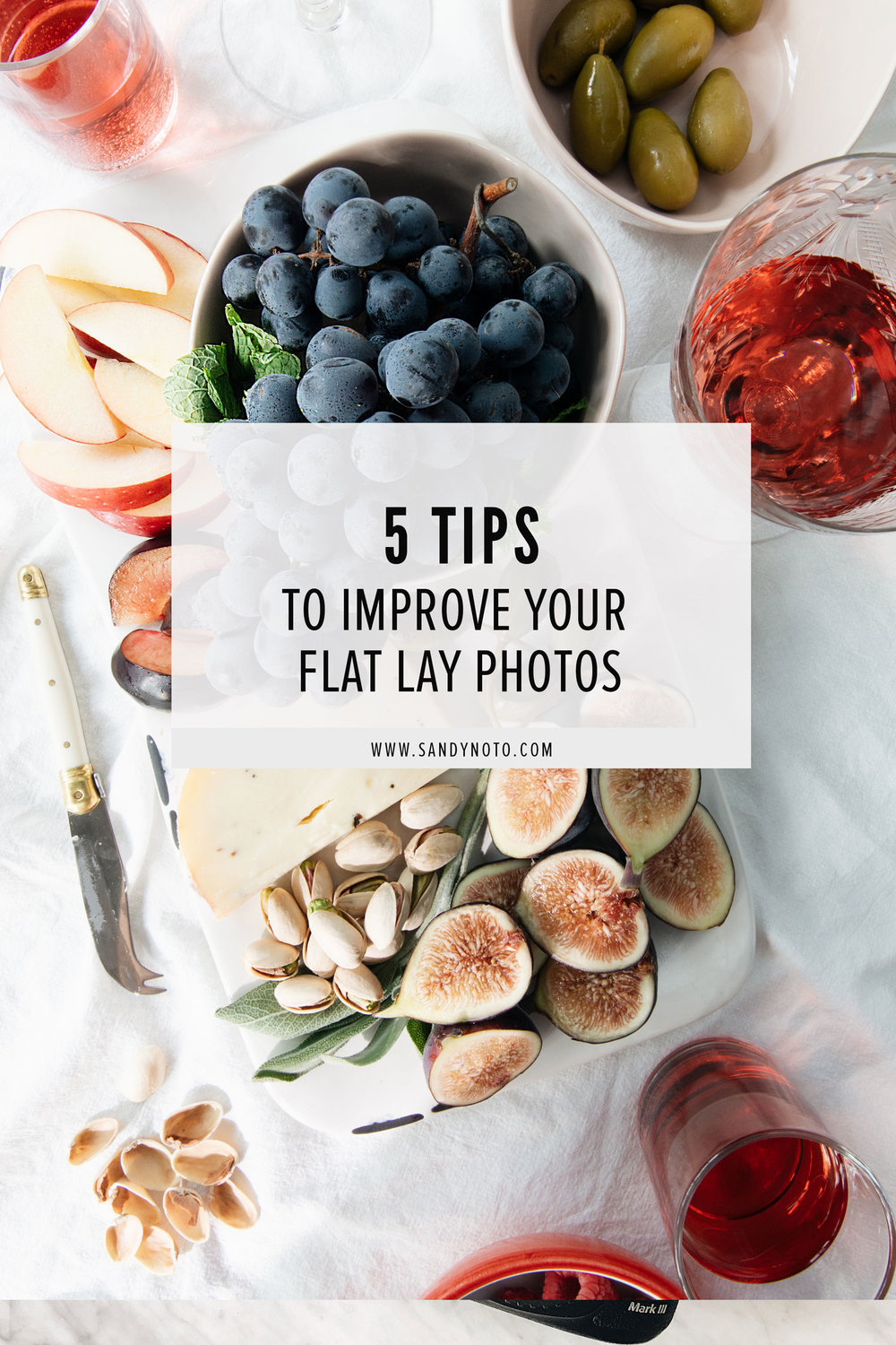 5 Tips For Flat Lay Photography