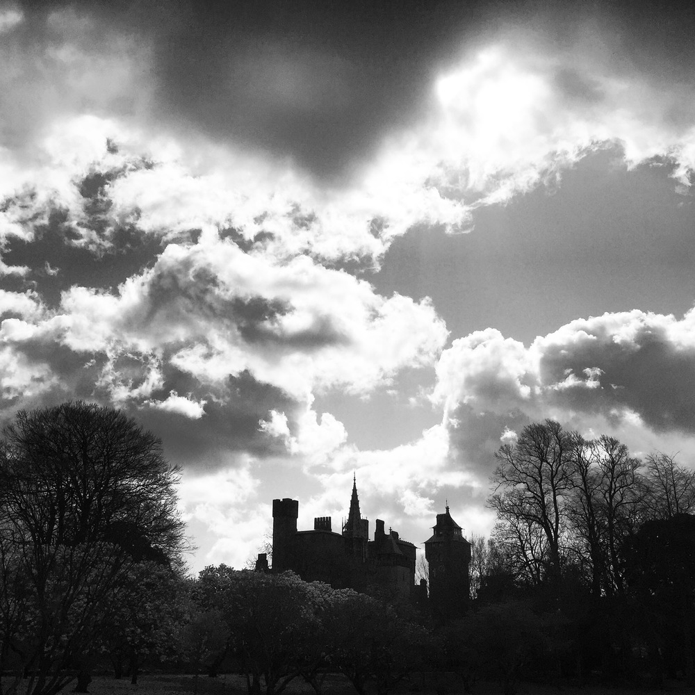 Cardiff Castle from Bute Park, Cardiff. (Photo by Matthew Horwood)