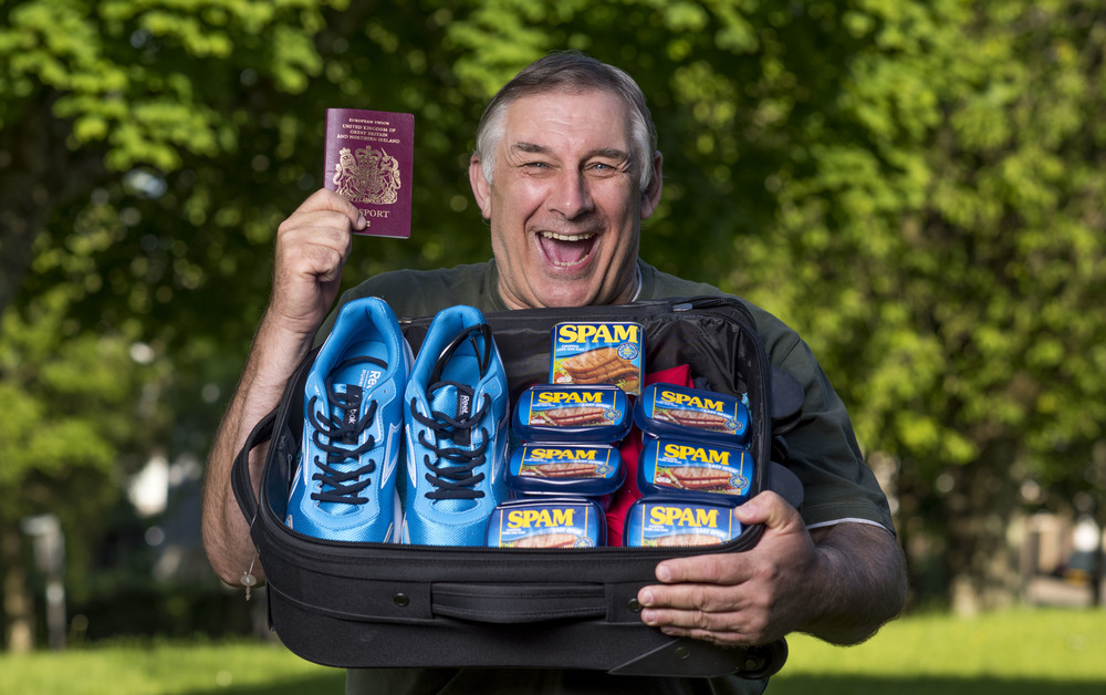 Chris Stephens, 61, reckons he devoured £37,000 of the canned meat in his lifetime and has it for breakfast, lunch and dinner.