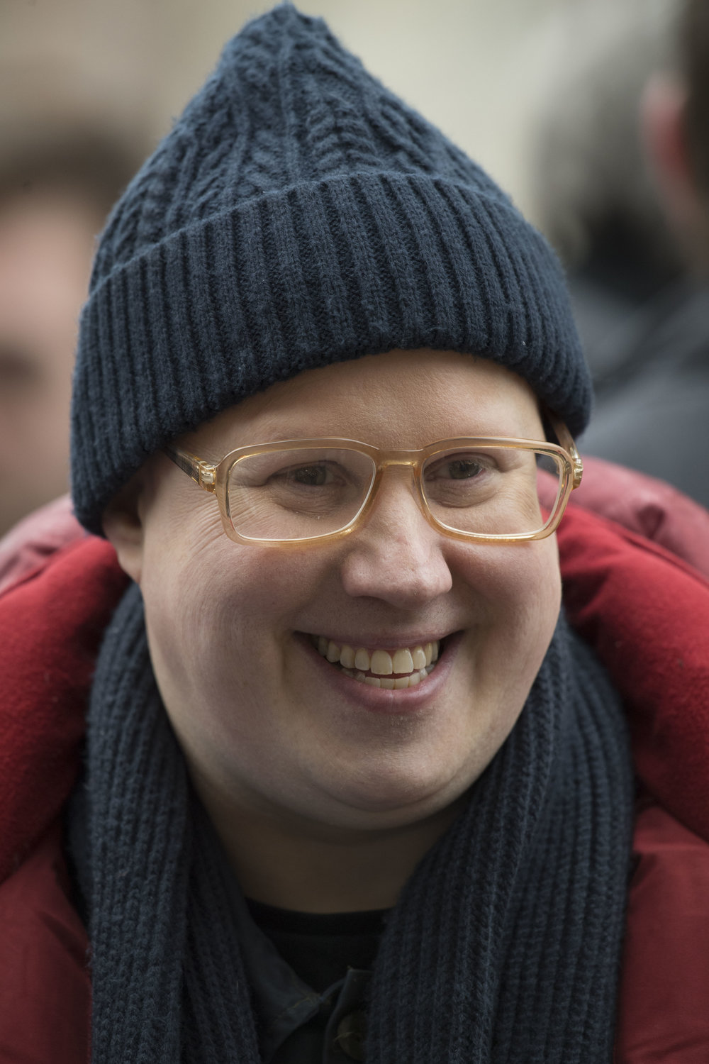 Matt Lucas spotted during filming for Series 10 of Doctor Who at Mount Stuart Square in Cardiff Bay, South Wales.
