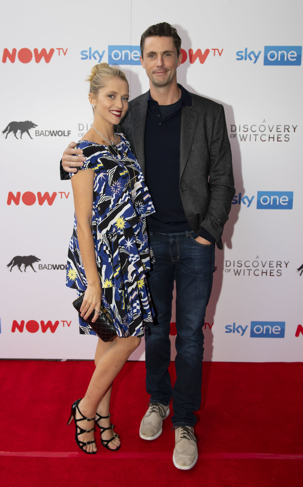 CARDIFF, WALES - SEPTEMBER 05: Teresa Palmer and Matthew Goode attend the UK Premiere of 'A Discovery Of Witches' at Cineworld on September 5, 2018 in Cardiff, Wales. (Photo by Matthew Horwood/Getty Images)