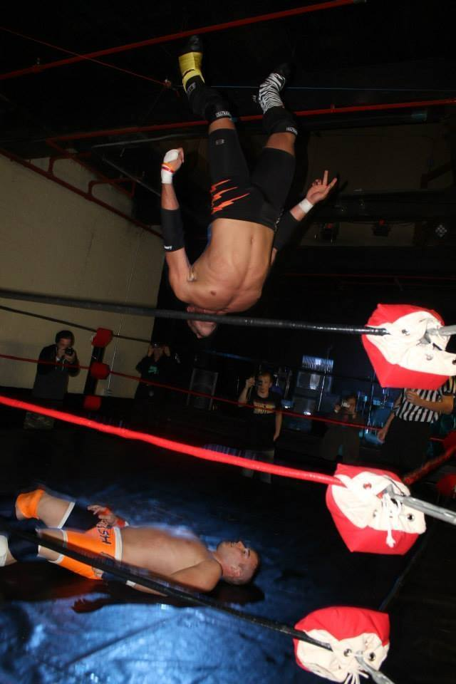 HIGH FLYING ACTION! West Warwick, Rhode Island September 2014  Photo Courtesy of Kelz Marie & Brittany Costa