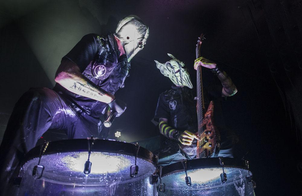 Mushroomhead in concert - Birmingham