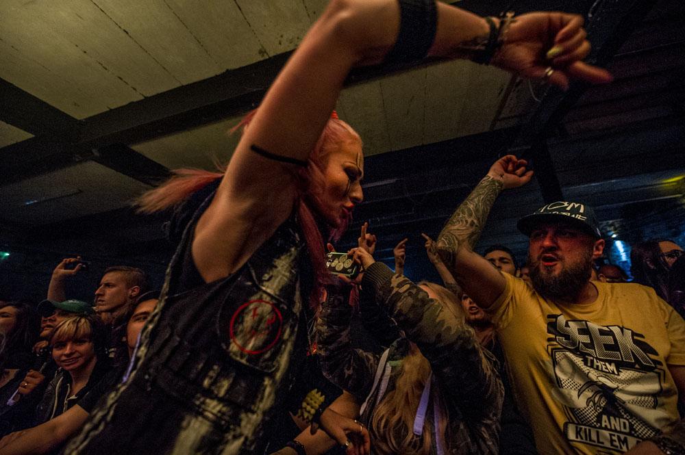 Mushroomhead in concert - Bristol
